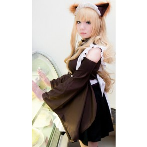 "The ""Hentai"" Prince and the Stony Cat. Azusa Azuki Maid Cosplay Costume"