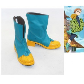 The Seven Deadly Sins King  Sin of Sloth Cosplay Boots