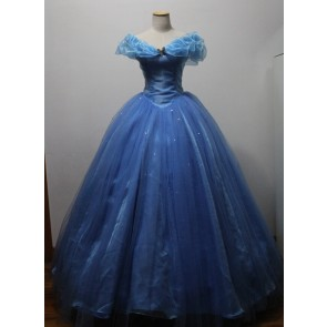 Movie Cinderella Princess Dress Cosplay Costume