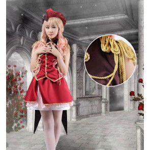Macross Frontier Sheryl Nome Fancy Cosplay Costume