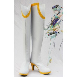 Tiger & Bunny Karina Lyle Blue Rose White Cosplay Boots