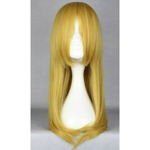 Golden 60cm Tiger & Bunny Karina Lyle Blue Rose Cosplay Wig