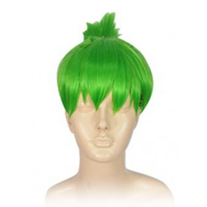 Green Tiger & Bunny Huang Pao-Lin Dragon Kid Cosplay Wig