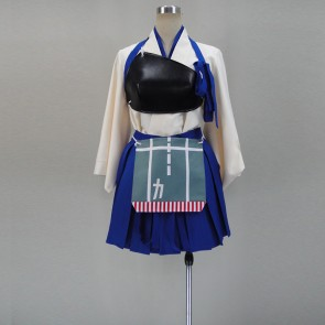 Kantai Collection KanColle Kaga Cosplay Costume