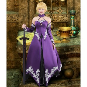 Fate/Zero Saber Cosplay Costume