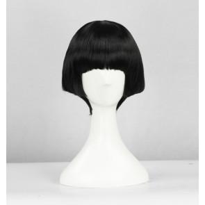 Black 35cm Gugure! Kokkuri-san Kohina Ichimatsu Cosplay Wig