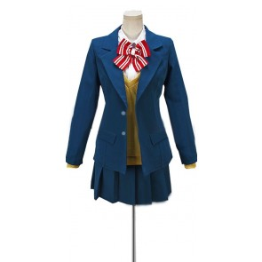 Wolf Girl and Black Prince Erika Shinohara School Uniform Cosplay Costume