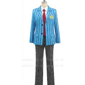 Yowamushi Pedal Hakone Academy School Boy's Uniform Cosplay Costume