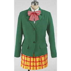 Yowamushi Pedal Miki Kanzaki/Aya Tachibana School Uniform Cosplay Costume