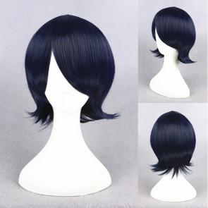 Blue 30cm Gugure! Kokkuri-san Inugami Cosplay Wig