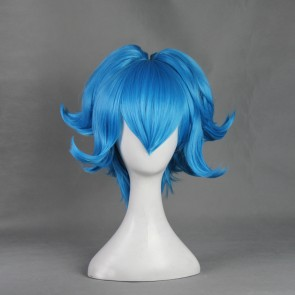 Blue 40cm Touken Ranbu Sayo Samonji Cosplay Wig