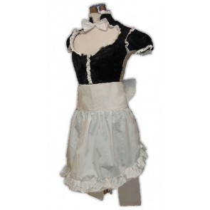 ZONE-00 Hanabusa Maid Cosplay Costume