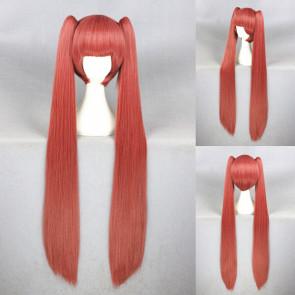 Red 100cm Gugure! Kokkuri-san Tama Cosplay Wig