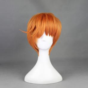 Orange 30cm Touken Ranbu Iwatooshi Cosplay Wig