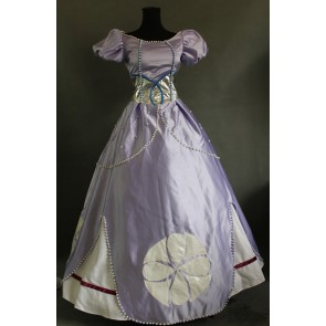 Deluxe Sofia the First Princess Sofia Dress Cosplay Costume