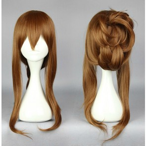Brown 70cm Kantai Collection Inazuma Cosplay Wig