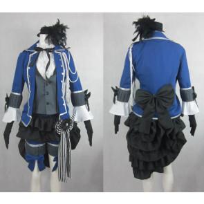 Kuroshitsuji Black Butler Ciel Phantomhive Knight Cosplay Costume