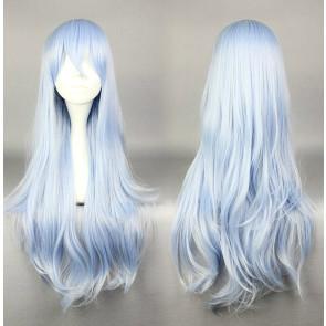 Blue 75cm Kantai Collection Hibiki Cosplay Wig