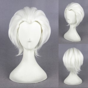 White 30cm Fate/stay night Archer Cosplay Wig