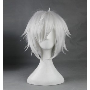 White 35cm DanMachi Familia Myth Bell Cranel Cosplay Wig