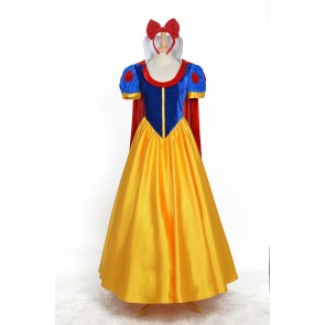 Princess Snow White Dress Cosplay Costume - Full Set Edition
