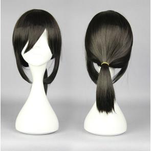 Black 45cm Kantai Collection Fubuki Cosplay Wig
