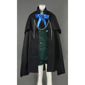 Kuroshitsuji Black Butler Ciel Phantomhive Cosplay CostumeWith Cape