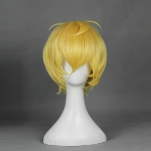 Gold 30cm Cute High Earth Defense Club Love! Yumoto Hakone Cosplay Wig