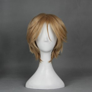 Brown 30cm Cute High Earth Defense Club Love! En Yufuin Cosplay Wig