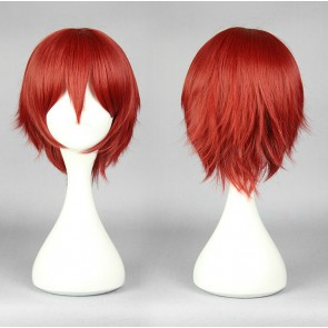 Red 30cm Assassination Classroom Karma Akabane Cosplay Wig