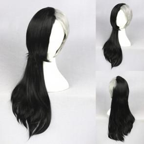 Black and Grey 60cm Tokyo Ghoul Mr. Bai Uta Cosplay Wig