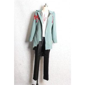 Danganronpa 2: Goodbye Despair Nagito Komaeda Cosplay Costume