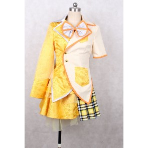 Momoiro Clover Z Shiori Tamai Yellow Cosplay Costume