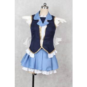 Happiness Charge PreCure! Cure Princess Hime Shirayuki Cosplay Costume