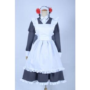 Gugure! Kokkuri-san Kokkuri-san Maid Cosplay Costume