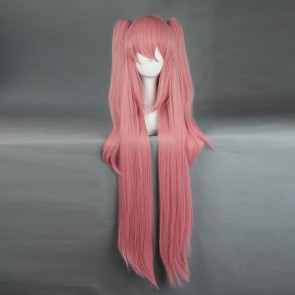 Pink 100cm Seraph of the End Krul Tepes Cosplay Wig
