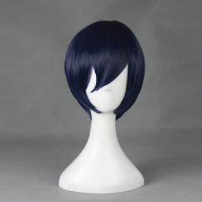 Blue 30cm Prison School Kiyoshi Fujino Cosplay Wig