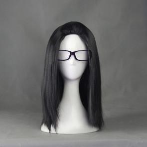 Black 45cm Prison School Takehito Morokuzu Cosplay Wig