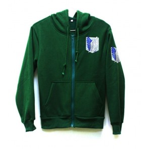 Attack on Titan Survey Corps Long Sleeve Cosplay Hoodie