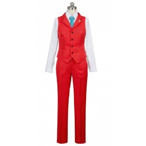 Ace Attorney Apollo Justice Cosplay Costume