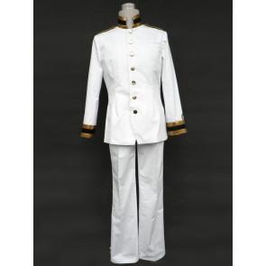 Axis Powers Hetalia White Japanese Cosplay Uniform