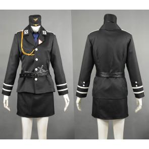 Axis Powers Hetalia Gilbert Weillschmitt Prussia Female Edition Cosplay Costume