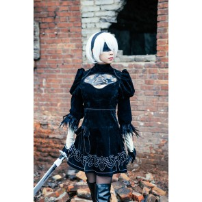 Nier: Automata 2B Cosplay Costume Version 2
