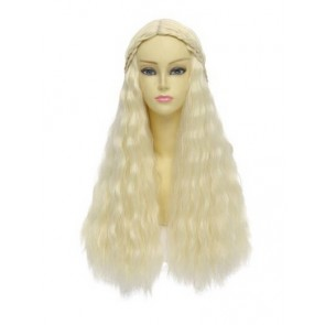 Beige 70cm Game of Thrones Daenerys Targaryen Wig