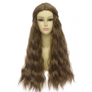 Brown 70cm Game of Thrones Margaery Tyrell Cosplay Wig