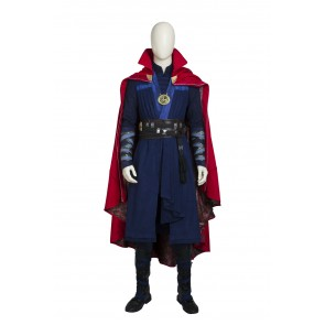 "Doctor Strange Stephen ""Stephen"" Vincent Strange Cosplay Costume With Boots"