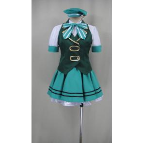 Is the Order a Rabbit? Chiya Ujimatsu Uniform Cosplay Costume