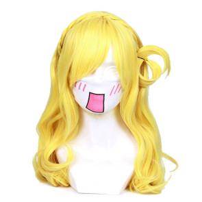 Gold 50cm Love Live! Sunshine!! Mari Ohara Cosplay Wig