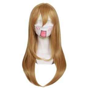 Brown 60cm Love Live! Sunshine!! Hanamaru Kunikida Cosplay Wig