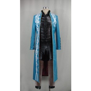 Devil May Cry 3 Vergil Cosplay Costume - Version 3